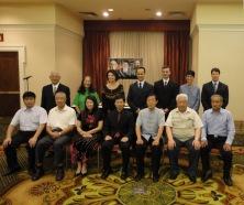 Discepoli del Maestro Yang Jun con i rappresentanti dei 5 stili di Tai Chi