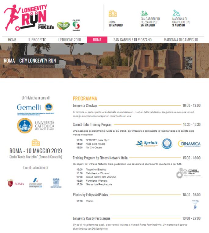 Longevity run